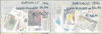 60936 -  PORTUGAL - STAMPS:  1987 / 1994 MNH - NOT COMPLETE but mostly..