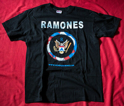RAMONES vintage t-shirt Mint first OFFICIAL website member ARTURO VEGA Large