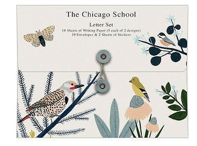 ROGER LA BORDE The Chicago School Writing Paper Letter Gift Set by Kate Pugsley