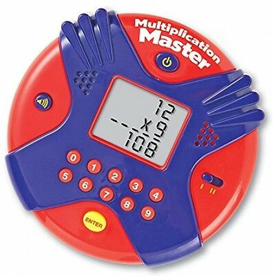 Multiplication Master - Children's Handheld Electronic Times Tables Maths Game