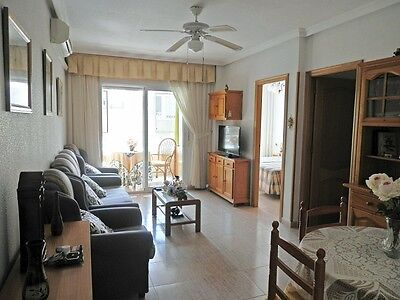 For Sale Furnished 2Bed Apartment Moriones Street Torrevieja Spain Terrace Swim