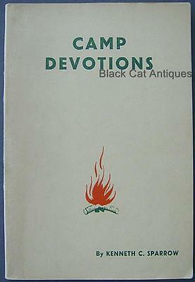 Camp Devotions For Morning & Evening Devotions Boy Scout Book By Kenneth Sparrow