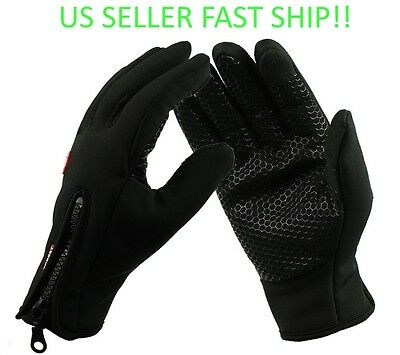 Touch Screen Sports Windproof Waterproof Outdoor Warm Gloves Men Women Winter