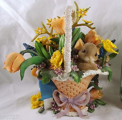Charming Tails Figurine You're The Most Beautiful Blossom of the Bunch