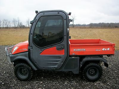 2008 Kubota RTV1100, C/H/A, 4WD, Hydraulic dump, power steering, 561hrs, 1 OWNER