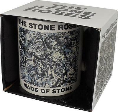 Stone Roses - Made Of Stone Ceramic Coffee / Tea Mug - New & Official In Box
