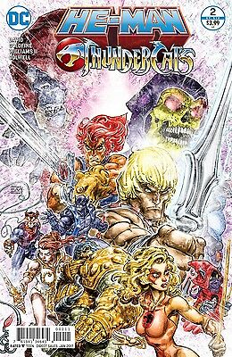HE MAN THUNDERCATS #2 (1st Print) New Bagged and Boarded