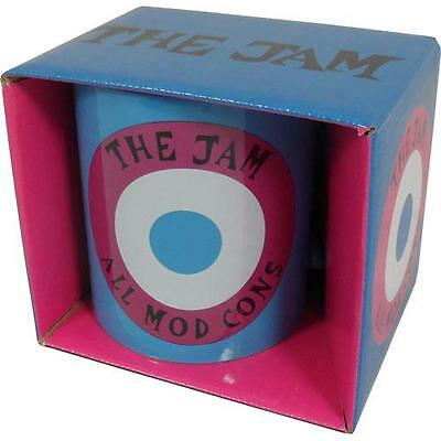 The Jam - All Mod Cons Ceramic Coffee / Tea Mug - New & Official In Display Box