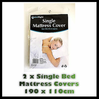 King Size Fitted Mattress Protector Sheet Matress Cover Water Resistant Washable