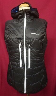 Ortovox Swisswool Light Tec Vest Lavarella Women black raven Gr. L