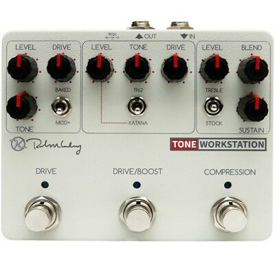 Keeley Tone Workstation Compressor and Drive Pedal *B-Stock