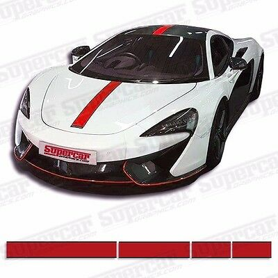 "McClaren 650S 4.5"" Stripe Kit - 2 Color! Striping, Decals, SuperCar Graphics"