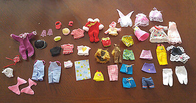 Barbie Mixed Lot Of Kelly Clothing - Very Nice