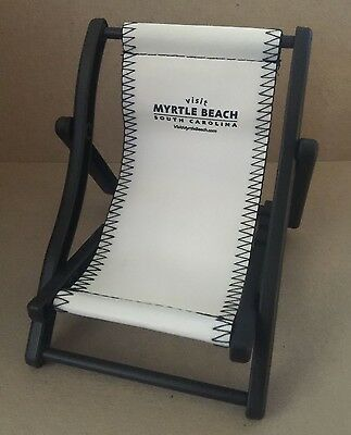 Myrtle Beach South Carolina Mini Souvenir Folding Chair - New  (4095)