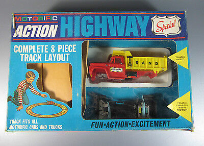 Vintage Ideal motorific Highway Mighty Hauler pack old store brand new 1968