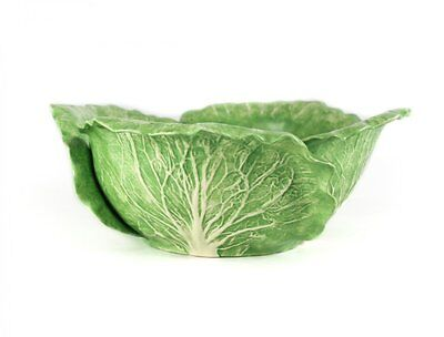 Dodie Thayer Lettuce Ware Leaf Salad Serving Bowl, Earthenware