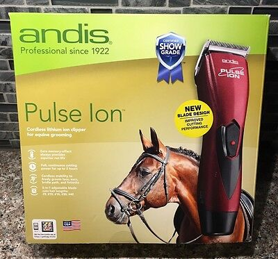 BRAND NEW SEALED Andis Pulse Ion Cordless Lithium Ion Clipper For Equine 68310
