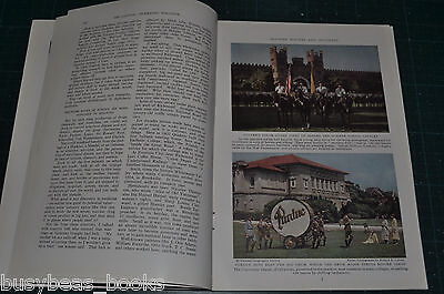 1936 magazine article about INDIANA, people places history, color photos