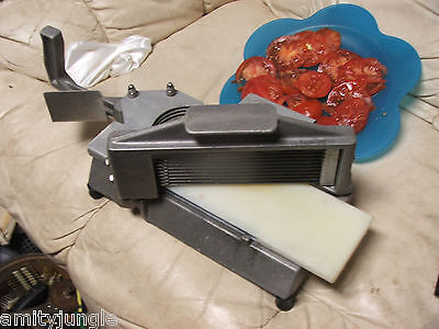 """Nemco #55600-2 Easy Tomato Slicer With 1/4"""" Stainless Steel Blades; FAST S&H"""