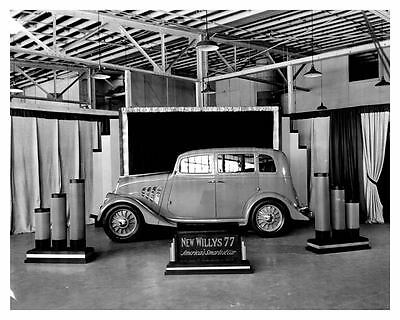 1933 Willys 77 ORIGINAL Factory Photo ouc0146