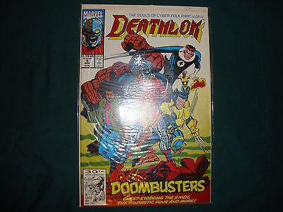 Deathlok #5 1991 FT: X-men, FF, Doombusters and more