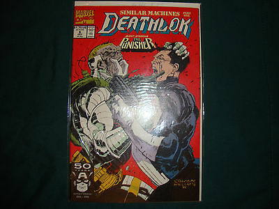 Deathlok #6 1991 FT: The Punisher