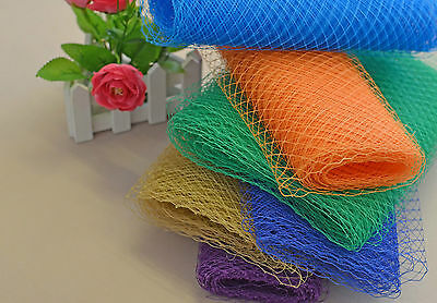 Wedding Veil Netting Veiling Birdcage French Millinery Hat Trimming Colors