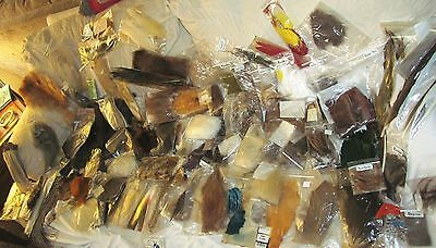 Huge Lot Of Fur Feathers Hackles Htf Fur For Fly Tying * Free Shipping
