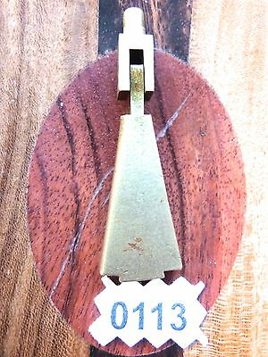 Art Deco Drawer Drop Pull Triangle Brass Door Drop Pull Vintage
