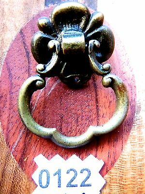 Eastlake Drawer Pull Vintage Cabinet Bail Ring Pull