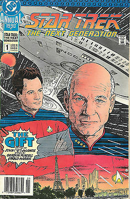 Star Trek The Next Generation Annual 1990 #1 The Gift