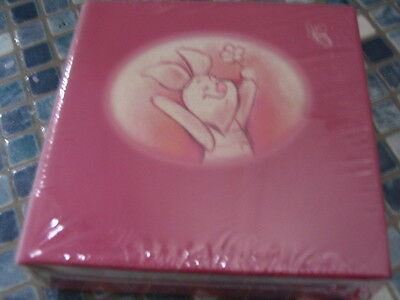 Disney Store Piglet Pink Small Cube Notepad BRAND NEW