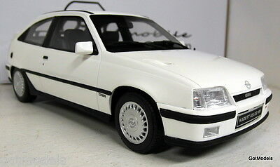 Otto 1/18 Scale OT174 Opel Kadett GSi (Astra mk2) White Resin cast Model Car