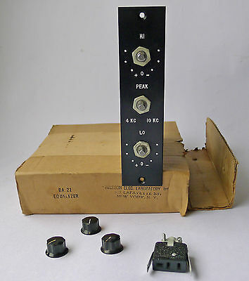 1950s NEW IN THE BOX VINTAGE BA 21 PASSIVE EQUALIZER UNIVERSAL AUDIO 508 EQ