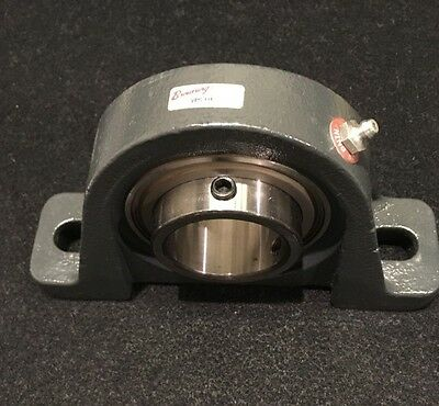 "Browning VPS-131 Pillow Block Ball Bearing, 1-5/16"" (1.937"") Bore, 2 Bolt"