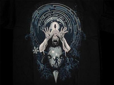 "TeeFury Pan's YOUTH LARGE ""Pan's Nightmare"" Labyrinth Tribute Shirt BLACK"