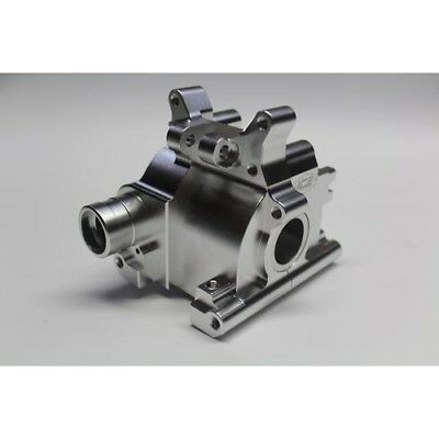 Ice Racing Losi 5ive Alloy Rear Diff Case Silver Finish suit also KM Rovan 30N
