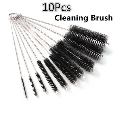 Nylon Cleaning Brush Set Test Tube Bottle Straw Washing Cleaner Bristle Kit Tool