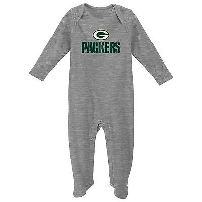 Green Bay Packers Baby Infant Thermal Coverall Pajamas (FREE SHIPPING) 6-9 mo