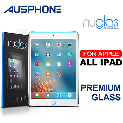 Genuine Nuglas Tempered Glass Screen Protector for iPad 5/4/3/2 Air Mini 4 3 Pro