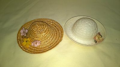 Vintage Vogue Ginny Muffie Ginger Pair Of Doll Hats $6.66