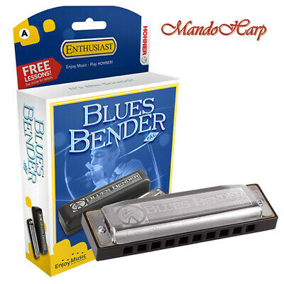 Hohner Harmonica - 585/20 Blues Bender PAC (SELECT KEY) NEW