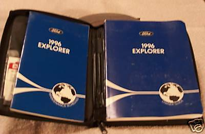 **LOOK** 1996 Ford Explorer Owners Manual Set 96