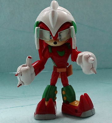 Sonic X Hedgehog Space Fighters Knuckles Action Figures RARE