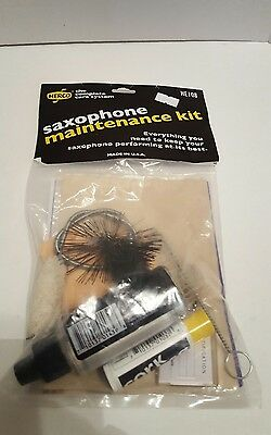 Herco HE108 Complete Care System Saxophone Maintenance Kit *
