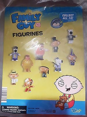 Family Guy Figurines 66 CT. Toys Vending Machine Lot collector wrapped !