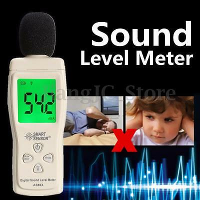 30-130dB Digital Sound Level Decibel Meter Noise Pressure Test Hospital Library