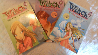 WITCH BY ELIZABETH LENHARD 4 ,11 and 114 VGC 3 books