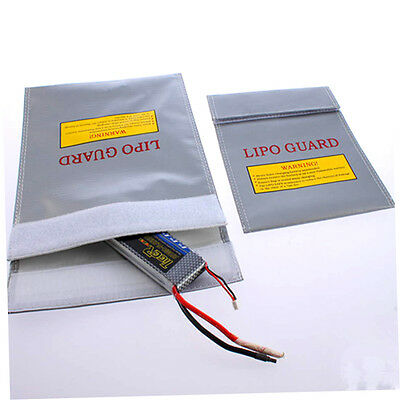 30x23cm RC LiPo LiPo Battery Safety Fireproof Bag Case Safe Guard Charge Sack SS