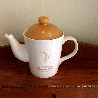 Tim Hortons Coffee Tea Pot 2 Cup Always Fresh Excellent Limited Edition Classic!